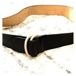 Kenneth Cole leather black belt